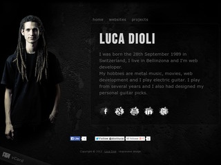 Luca Dioli Website 2013